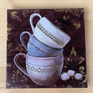 Coffee Cup Canvas